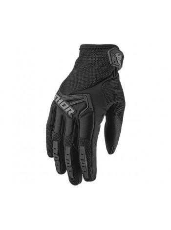 Перчатки для мотокросса Thor S20 Spectrum Черные