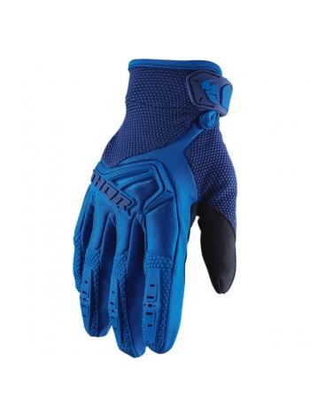 Перчатки для мотокросса Thor S20 Spectrum Синие