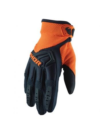 Перчатки для мотокросса Thor S20 Spectrum Сине-оранжевые