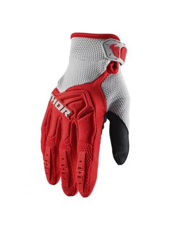 Перчатки для мотокросса Thor S20 Spectrum Красные