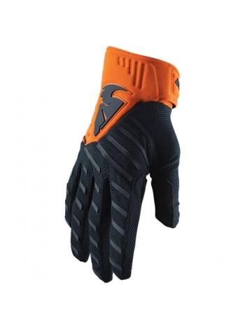 Перчатки для мотокросса Thor S20 Rebound Сине-оранжевые