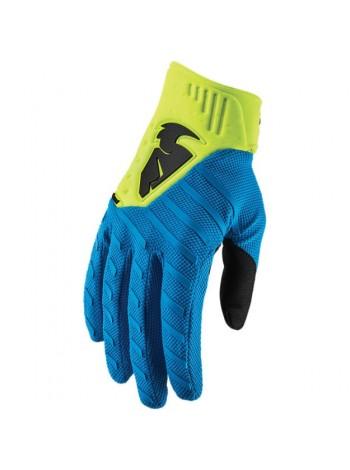Перчатки для мотокросса Thor S9 Rebound Синие
