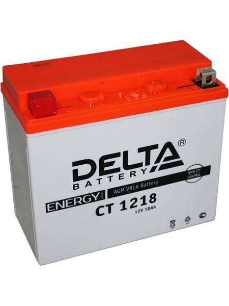 Аккумулятор Delta CT 1218 AGM