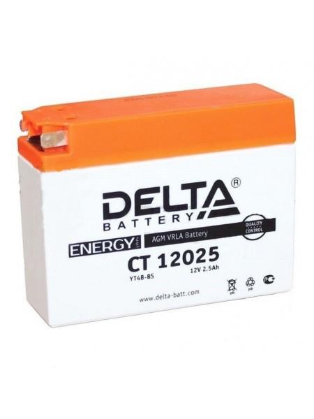 Аккумулятор Delta CT YT4B-BS Slim Suzuki/Yamaha