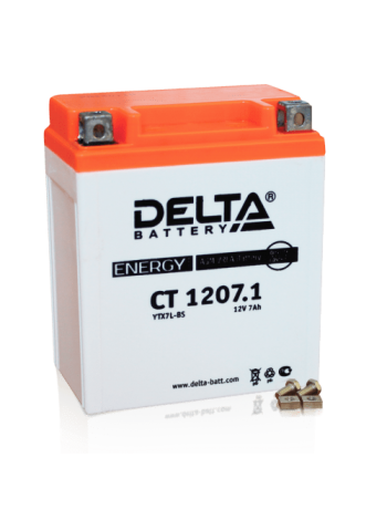 Аккумулятор Delta CT 1207.1 AGM