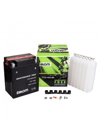 Мотоаккумулятор ATOM YTX14AH-BS MF