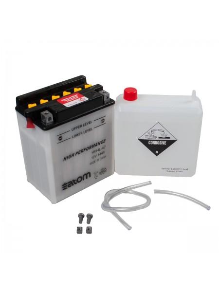 Мотоаккумулятор ATOM YB14L-A2