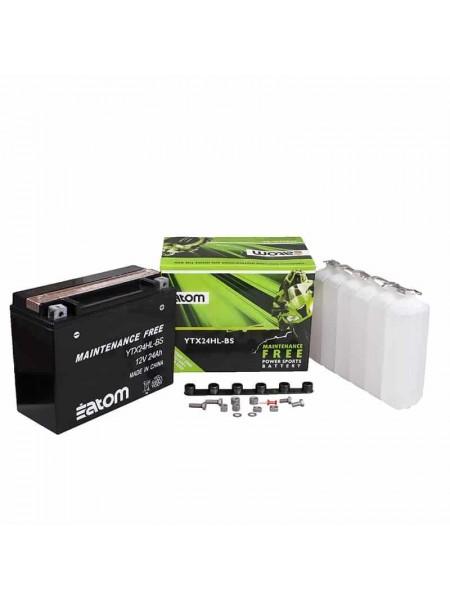 Мотоаккумулятор ATOM YTX24HL-BS MF