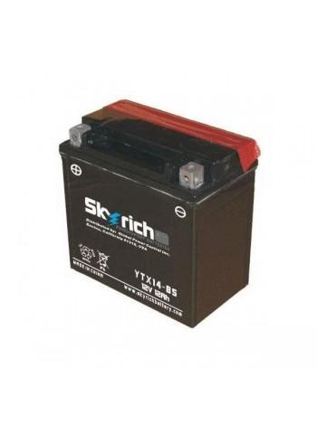 Аккумулятор SKYRICH YTX14-BS MF