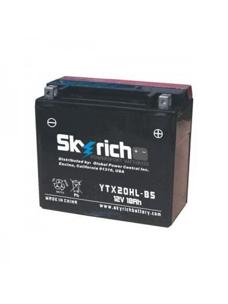 Мотоаккумулятор SKYRICH YTX20HL-BS