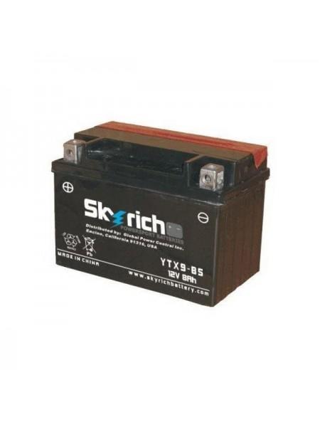 Мотоаккумулятор SKYRICH YTX9-BS MF