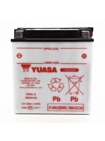 Аккумулятор YUASA YB30L-B