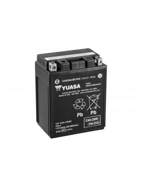 Мотоаккумулятор YTX14AHL-BS