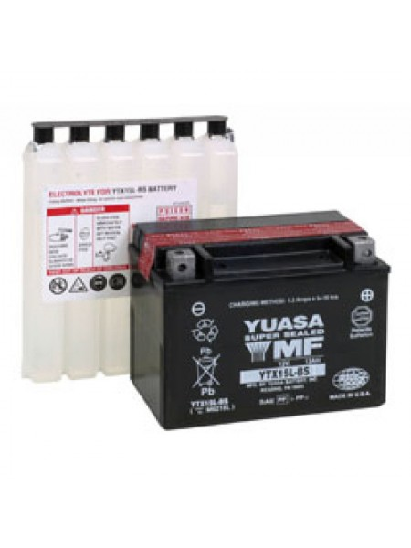 Мотоаккумулятор YTX15L-BS