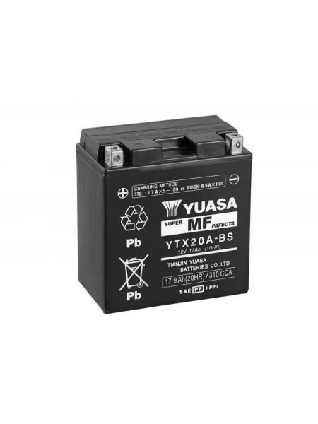 Мотоаккумулятор YTX20A-BS