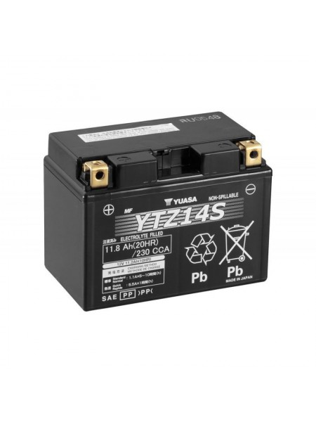 Мотоаккумулятор YTZ14S