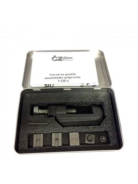 Инструмент для расклёпки и заклёпки цепи CZ