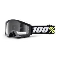 Детская маска кроссовая 100% Strata Mini Black