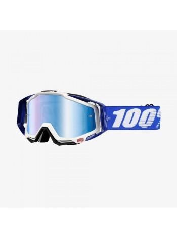 Маска кроссовая 100% Racecraft Cobalt Blue