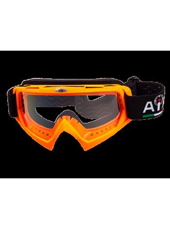 Маска кроссовая AiM 634-400 Orange