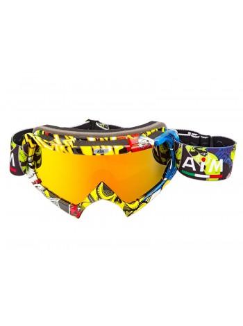 Маска кроссовая AiM (PRO) 157-800 Multicolor Glossy