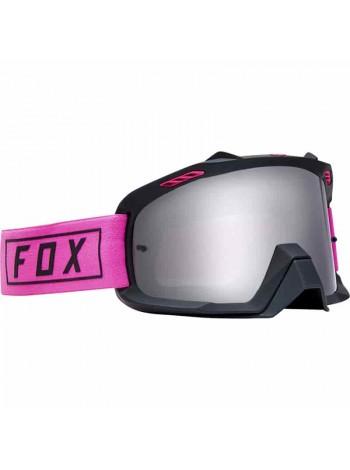 Маска кроссовая Fox 2019 Air Space Gasoline Pink очки, розовые