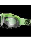 Маска кроссовая Fox Air Space Day Glow Green Black очки, прозрачная линза
