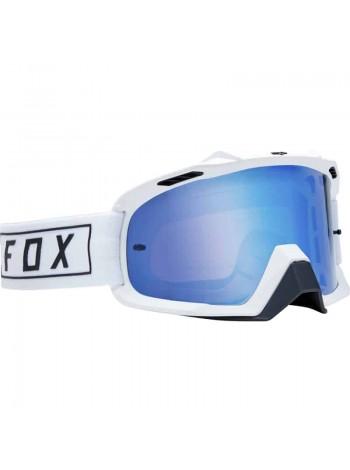 Маска кроссовая Fox Air Space Gasoline White очки, белые