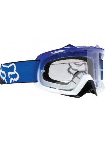 Маска кроссовая Fox Air Space Blue-White Fade очки, прозрачная линза