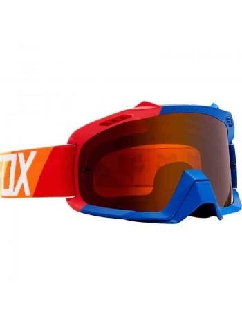 Маска кроссовая Fox Air Space Draftr Blue очки, синие