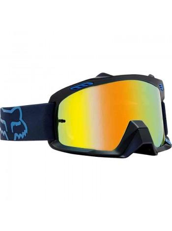 Маска кроссовая Fox 2018 Air Defence Krona Blue очки, синие