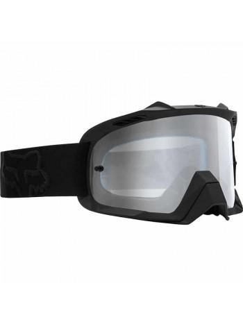 Маска кроссовая Fox - 2018 Air Defence Race Black очки, черные матовые