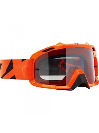 Маска кроссовая Fox 2018 Air Defence Race Orange очки, оранжевые