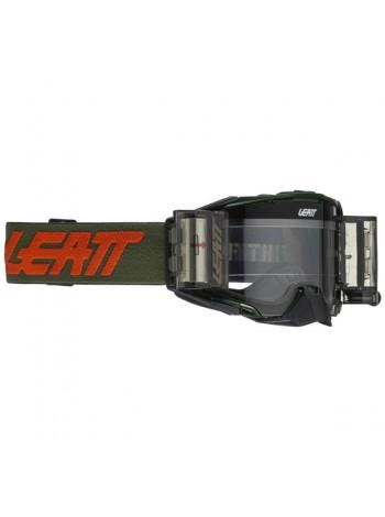 Маска Leatt Velocity 6.5 ROLL - OFF CACTUS CLEAR 83%