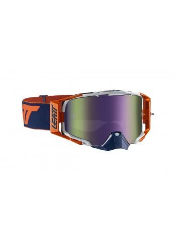 Маска Leatt Velocity 6.5 Iriz Orange/Ink Purple