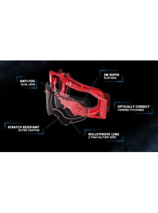 Маска Leatt Velocity 4.5 SNX Goggle Black Clear