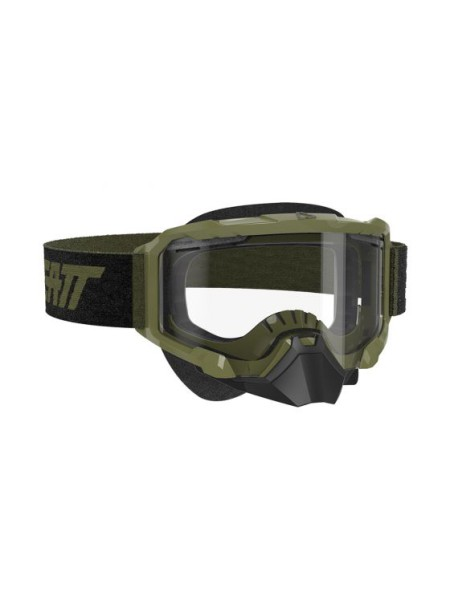 Маска Leatt Velocity 4.5 SNX Goggle Forest Clear
