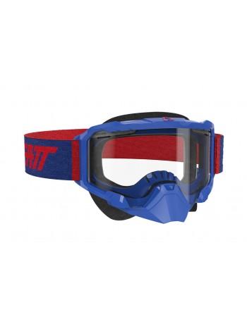Маска Leatt Velocity 4.5 SNX Goggle Royal Clear