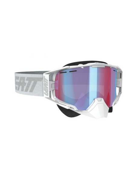Маска Leatt Velocity 6.5 SNX Goggle Iriz White/Grey Blue