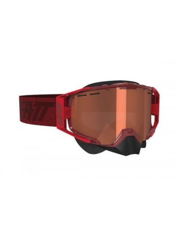 Маска Leatt Velocity 6.5 SNX Goggle Ruby/Red Rose