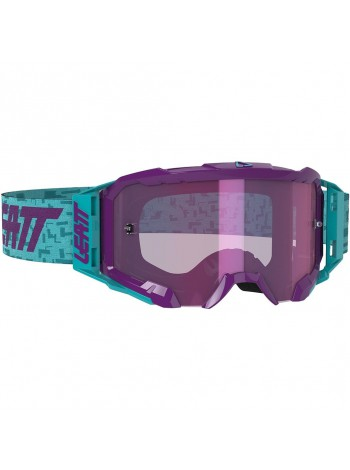 Маска Leatt Velocity 5.5 Iriz Aqua/Purple