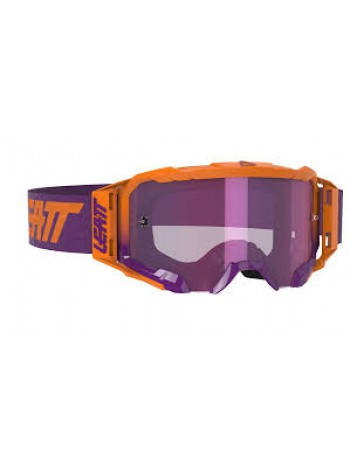 Маска Leatt Velocity 5.5 Iriz Neon Orange/Purple