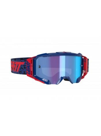 Маска Leatt Velocity 5.5 Iriz Royal/Blue