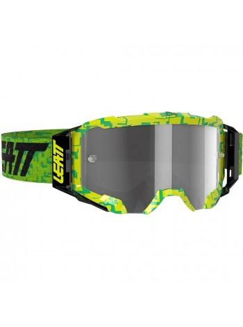 Маска Leatt Velocity 5.5 Neon Lime/Light Grey