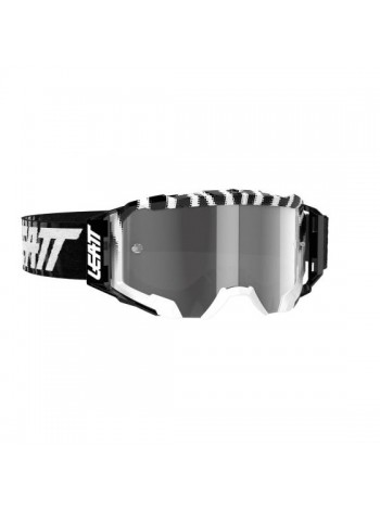 Маска Leatt Velocity 5.5 Zebra/Light Grey