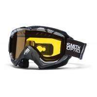 Маска снегоходная Smith Snow Turbo Option Otg Black-Silver Static