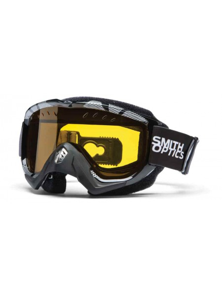Маска снегоходная Smith Snow Turbo Option Otg Black-Silver Static
