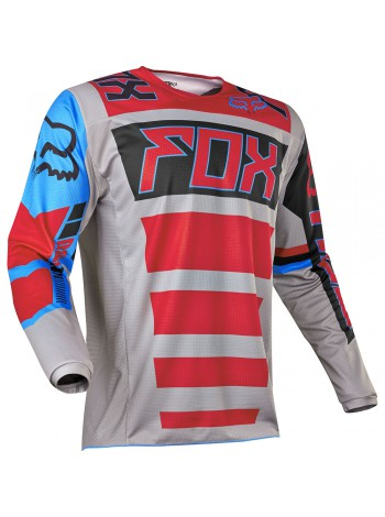 Мотоджерси Fox 180 Falcon Jersey Grey/Red
