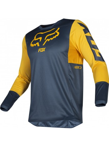 Мотоджерси Fox 180 Przm Jersey Navy Yellow
