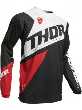 Мотоджерси Thor S20 Sector Blade Charcoal Red